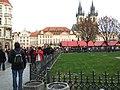 Praha, Staré Město, Staroměstské náměstí, předvánoční trhy II.JPG