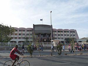 Várzea, Praia - The Government Building in Praia