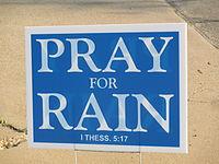 Pray for Rain placard, Wichita Falls, TX IMG 6940