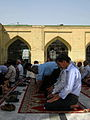 Prayers of Noon - Grand Mosque of Nishapur -September 27 2013 48.JPG