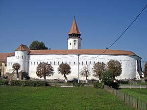 Fortress church - Fortress church in Tartlau, Transylvania