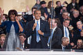 President and first lady dance to performers at 57th Inaugural Parade 130121-Z-QU230-272.jpg