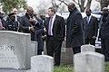 President of the Democratic Republic of the Congo Felix Tshisekedi Visits Arlington National Cemetery (32622458677).jpg