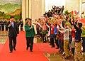 Presidenta Bachelet se reunió bilateralmente con el Jefe de Estado de la República Popular China, Xi Jinping (15774381972).jpg