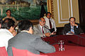 Presidente del Congreso y Prensa Extranjera (6780656414).jpg