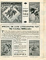 Press sheet for THE COWBOY MILLIONAIRE, 1913 (Page 2).jpg