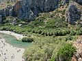 Preveli Gorge, Rethymno Prefecture, Greece - seen with palm forest (4).jpg