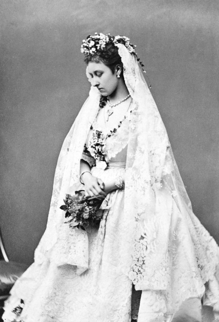 Princess Louise in her wedding dress Princess Louise in her wedding dress.png