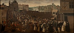 Armed procession of the Holy League in Paris, 1590
