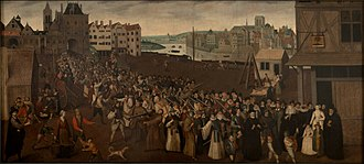 Catholic League (French) - Armed procession of the Holy League in Paris in 1590, Musée Carnavalet.