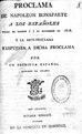 Proclama de Napoleón Bonaparte a los españoles su fecha en Madrid á 7 de Diciembre de 1808 - y la anti-proclama o respuesta a dicha proclama (IA A0341392).pdf
