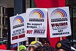 Protesting The Trump National Emergency Chicago Illinois 2-18-19 6152 (32221700617).jpg