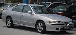 A post-2003 facelift Proton Perdana V6.