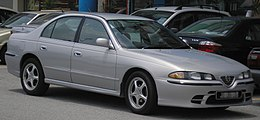 Proton Perdana (V6) (first generation, second facelift) (front), Serdang.jpg