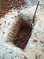 Public Road digging to lay Fiber Optics Cable, Munnekollala, Bengaluru.jpg