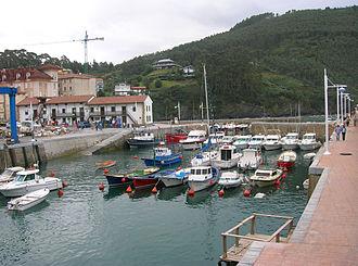 Lemoiz - The fishing port of Armintza.