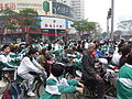 Quanzhou - bike traffic - DSCF8718.JPG