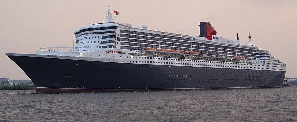 Queen Mary II Einlaufen Hamburg Hafengeburtstag 2006 -2