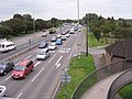 Queueing Traffic on A27 - Chichester. - geograph.org.uk - 938619.jpg