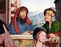 Quinten metsys, trittico della confraternita di sant'anna a lovanio, 1509, 08.JPG