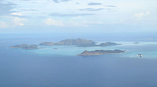 Quiniluban Group group of islands in Palawan, Philippines
