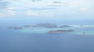 Cuyo Archipelago - Image: Quinubalan Group