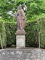 Réchicourt-le-Château (Moselle) statue Sacré-Coeur.jpg