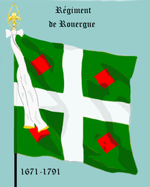 Image illustrative de l'article Régiment de Rouergue