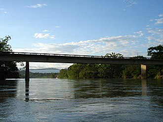 Caguán River - The river near San Vicente del Caguán