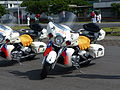 ROCMP Patrol Motorcycles Display at No.11 Pier of Zhongzheng Naval Base 20130504a.jpg