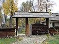 RO B Village Museum Fundu Moldovei household gate.jpg