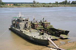 Serbian River Flotilla - Image: RSBR36 Šabac DJČ412 411