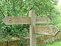 Rail Trail Signpost - geograph.org.uk - 827371.jpg