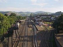 Cruzeiro (São Paulo)-Transporte-Railroad in Cruzeiro city São Paulo State