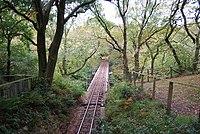 Railway track, Dolgoch - geograph.org.uk - 1517108.jpg