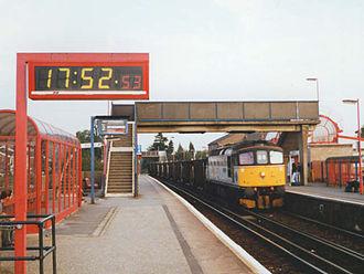 Rainham, Kent - Rainham station in 1992