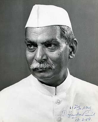 Ministry of Agriculture & Farmers Welfare - Image: Rajendra Prasad (Indian President), signed image for Walter Nash (NZ Prime Minister), 1958 (16017609534)