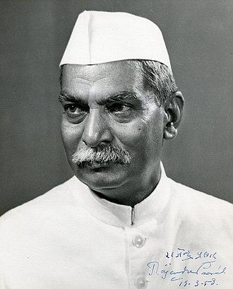 Rajendra Prasad - Image: Rajendra Prasad (Indian President), signed image for Walter Nash (NZ Prime Minister), 1958 (16017609534)