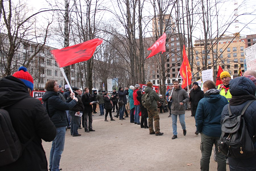 Rally for the termination of construction and restoration of the square (2018;11;17) 95.jpg