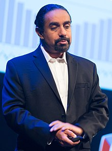 Ramez Naam at the SingularityU The Netherlands Summit 2016 (29025926993) (cropped).jpg