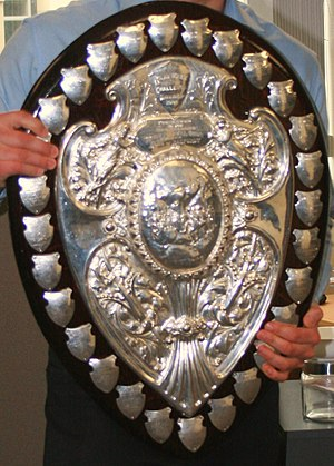 Rugby union trophies and awards - Image: Ranfurlyshield