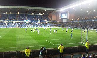 FC Unirea Urziceni - Rangers-Unirea 1–4 in 2009