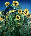 Ranken, William Bruce Ellis; Macaw and Sunflowers.jpg