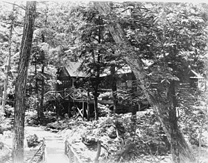 """Rapidan Camp - The Rapidan Camp """"Brown House"""" in Hoover's Time"""