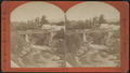 Rapids and Bridge from Cascade House, Luzerne, N.Y, from Robert N. Dennis collection of stereoscopic views.png
