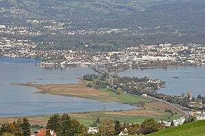 Freienbach–Hurden Seefeld - The site of the prehistoric settlement
