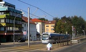 Saarbahn - Image: Rastpfuhl Am Rastpfuhl