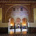 Reales Alcázares de Sevilla - Salón de Embajadores.jpg