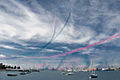 Red Arrows display at Portsmouth in July 2008.jpg