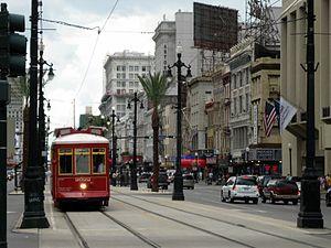 Canal Streetcar Line - Canal Street Line streetcar, 2005.